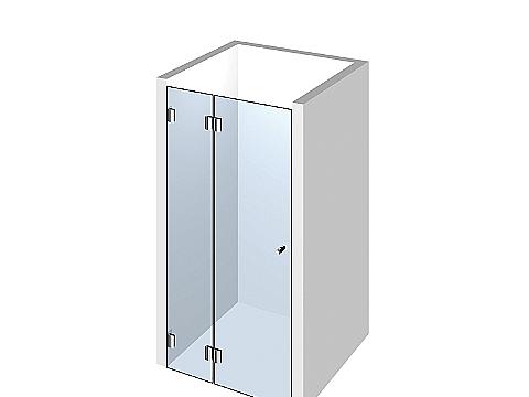Душевая дверь в нишу Тип 104