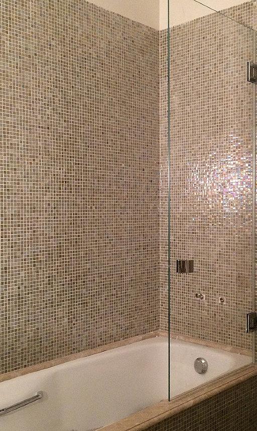 Стеклянная шторка для ванны PONTERE от PAULI