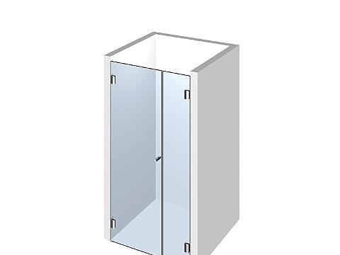 Душевая дверь в нишу Тип 102