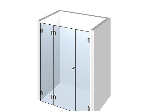 Душевая дверь в нишу Тип 105