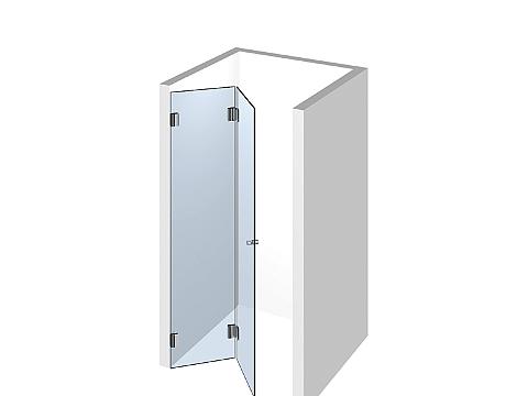 Душевая дверь в нишу Тип 107